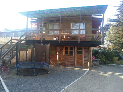 Horcon, 2 Casas .en 1 -.amobladas .cerca .de.playa .el Tebo