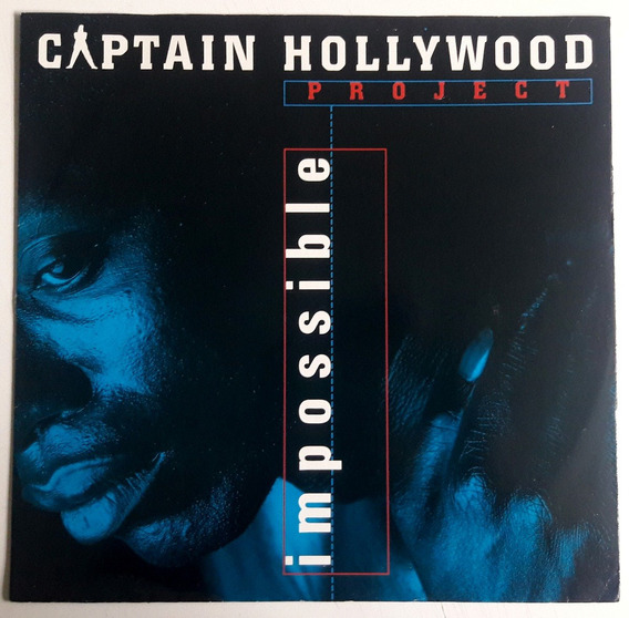 Lp 12 Single Importado/captain Hollywood Project/impossible