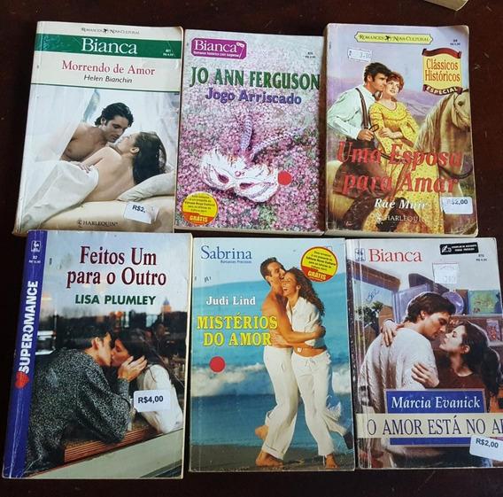 Romances Lote 10 Livros - Sabrina Nova Cultural Harlequin