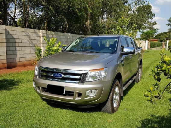 Ford Ranger Xlt 3,2 Cabine Dupla Diesel 2014 Único Dono