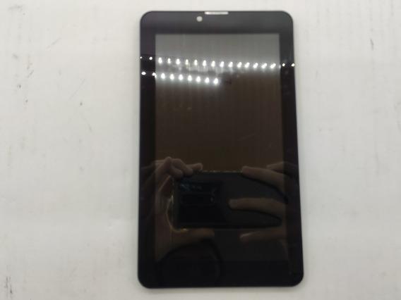Frontal Do Tablet Multilaser M7s 3g Preta C/ Bateria #3554