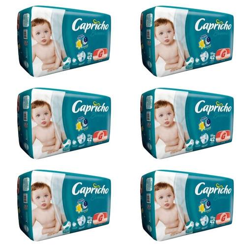 Capricho Bummis Mega Fralda Infantil G C/42 (kit C/06)