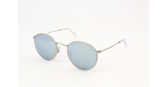 Óculos De Sol Ray Ban Round Rb3447 019/30 Metal Unissex
