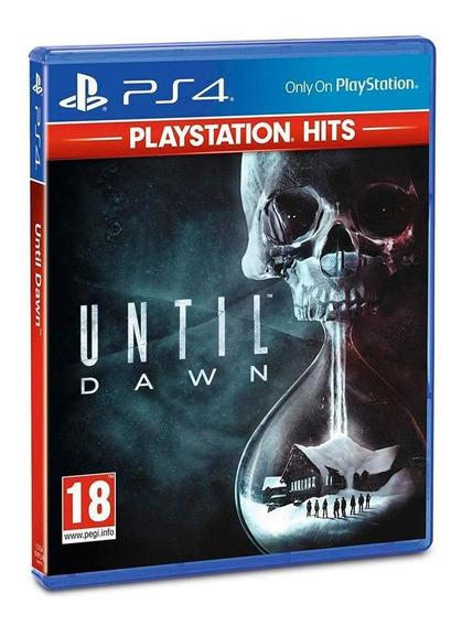 Until Dawn Playstation Hits - Ps4 - Mídia Física