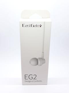 Fone De Ouvido Auricular Eastgate Eg2 Branco Original
