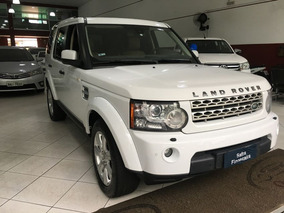 Land Rover Discovery 4 Se 2013 Branco Diesel