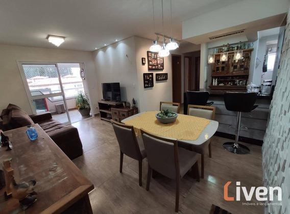 Apartamento Decorado Com Varanda Gourmet, Oportunidade!! - Ap1767