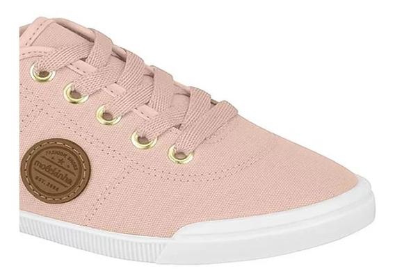 Sapato Casual Mokelinha Preto/rosa.original Pronta Entrega
