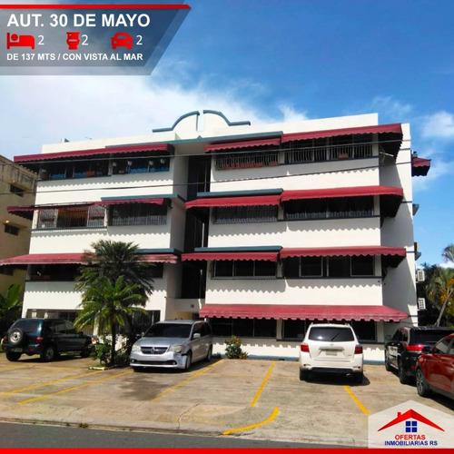 Imagen 1 de 14 de Apartamento Segundo Nivel 30 De Mayo Con Vista Al Mar