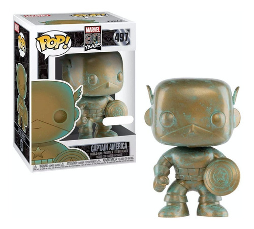 Figura Funko Pop 497 Capitan America 80th Oferta!