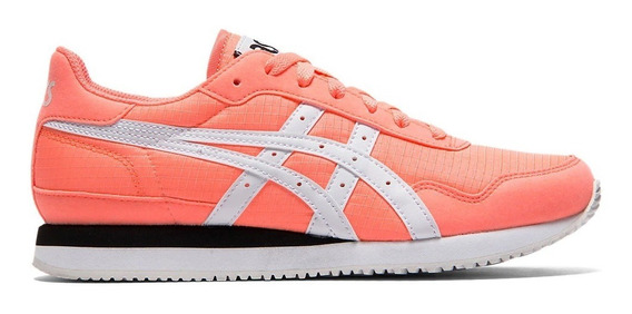 Asics Zapatillas Lifestyle Mujer Tiger Runner Coral - Bco