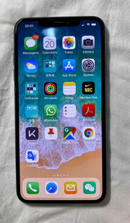 iPhone Xs Max Cinza Espacial 64gb A2104