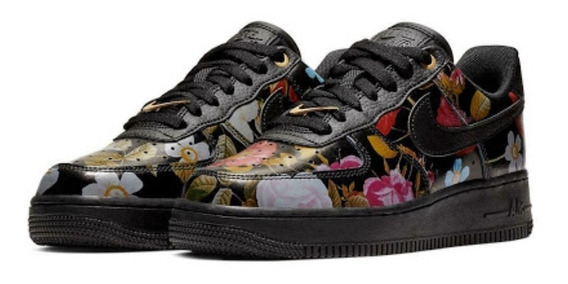 Nike Air Force 1 Floral Dama Original Nuevo En Caja Oferta