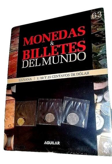 Silant Monedas Y Billetes Del Mundo Guyana N° 63 Aguilar
