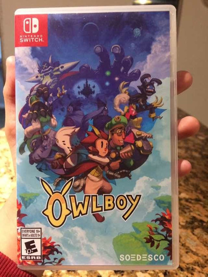 Jogo Owl Boy Nintendo Switch Seminovo