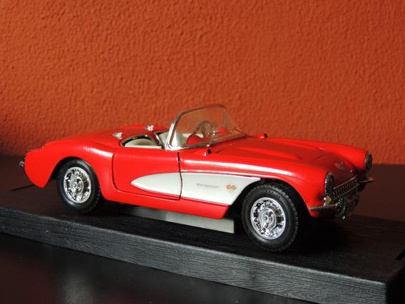 Miniatura Corvette Vermelho1:24yat Ming