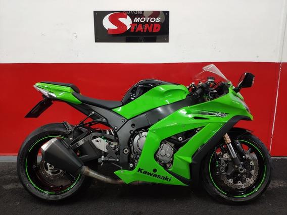 Kawasaki Ninja Zx10r Zx 10r Zx-10r Zx10 R 2011 Verde