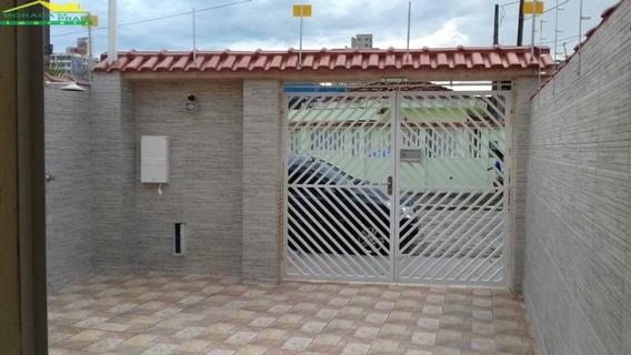 Casa Geminada Na Aviação, 2 Dormitórios, Edicula, 2 Vagas, Confira Na Imobiliária Em Praia Grande. - Mp11774