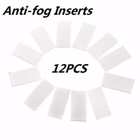 Pastilha Anti Embaçamento Antifog Gopro Go Pro 12 Unidades