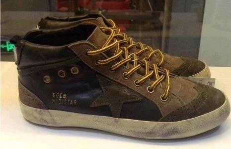 Tenis Sneaker Italiano 023 Golden Ggdb