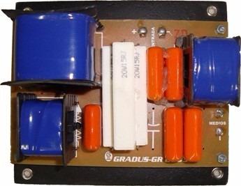 Kit 2 Divisor De Freq. Gr2703 3vias - Fte; Driver E Tweeter