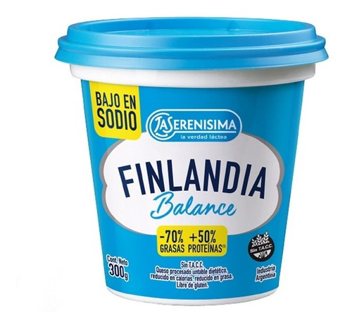 Queso Finlandia Balance X 300gr