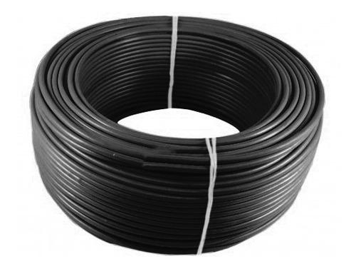 Imagen 1 de 1 de Alambre O Cable Rígido N10'' Negro X 100 Metros Procables