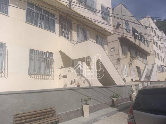Apartamento Com 3 Dormitórios À Venda, 85 M² Por R$ 420.000,00 - Centro - Niterói/rj - Ap3483