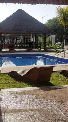 Renta De Casa Amueblada En Fraccionamiento, Quintana Roo