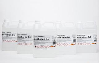Alcohol En Gel Sanitizante 20l - 5 Bidones De 5 Litros Anmat