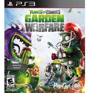 Plants Vs Zombies Garden Warfare Ps3 Digit Entrego Ya!
