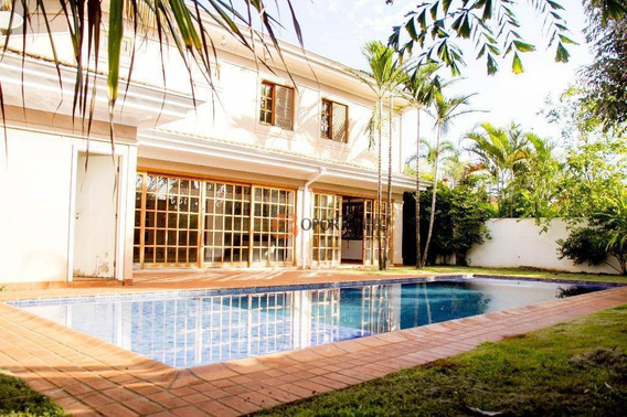 Casa Alto Padrão 4 Dormitórios Sendo 2 Suítes - Condomínio Country Village - Bonfim Paulista -ribeirão Preto - Ca0969