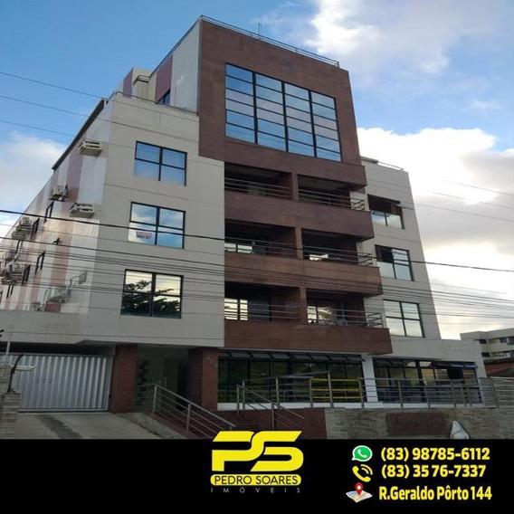 (oportunidade) Flat Em Manaíra Com 72m2 - Fl0055
