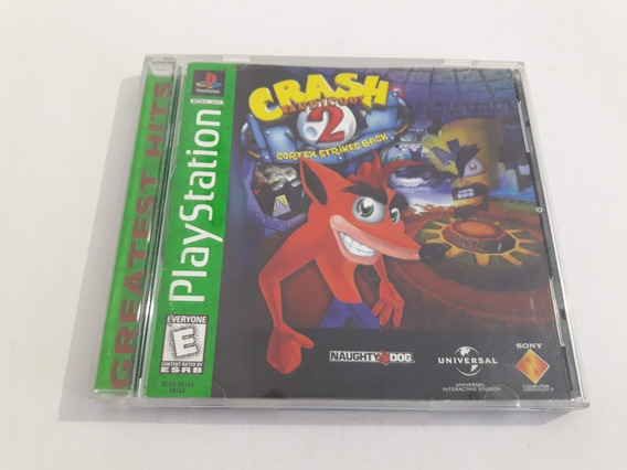 Ps1 Crash Bandicoot 2 Cortex Strikes Back Funcionando #730