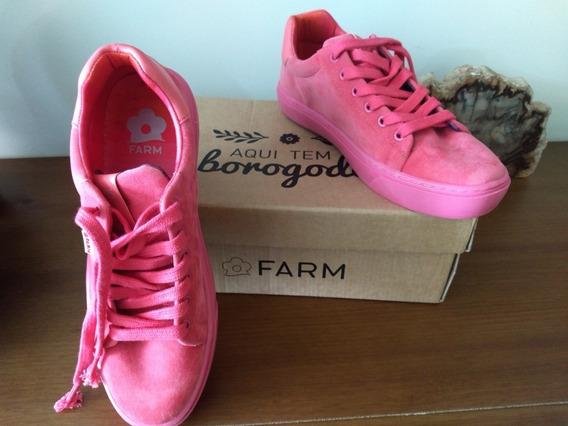 Tênis Pink Farm