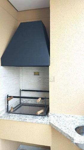 Apartamento Com 2 Dormitórios À Venda, 64 M² Por R$ 492.000,00 - Campestre - Santo André/sp - Ap10732