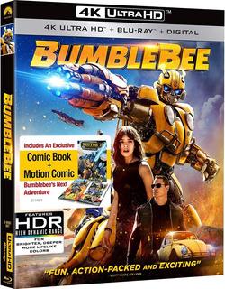 4k Ultra Hd + Blu-ray Bumblebee