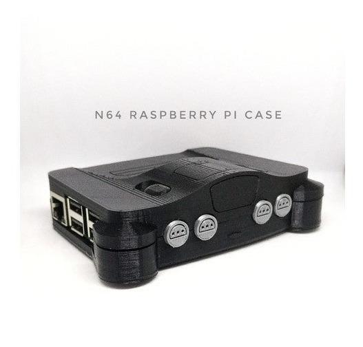 Gabinete Case Raspberry Pi 3 Nintendo 64