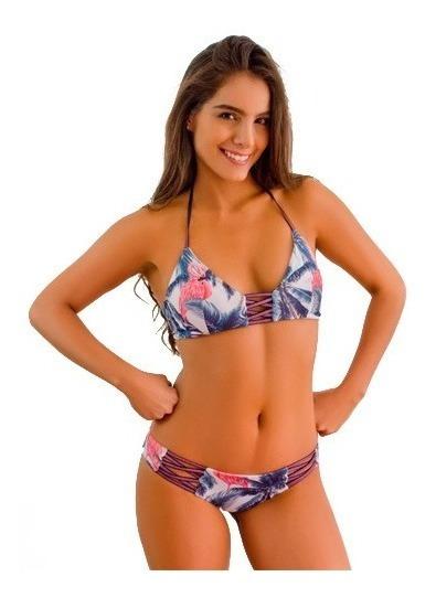 Bikini Cross Jessie De La Rosa Vestido De Baño Flamingo