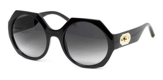 Dolce & Gabbana Dg6120 501/8g 54 - Preto/cinza Gradiente