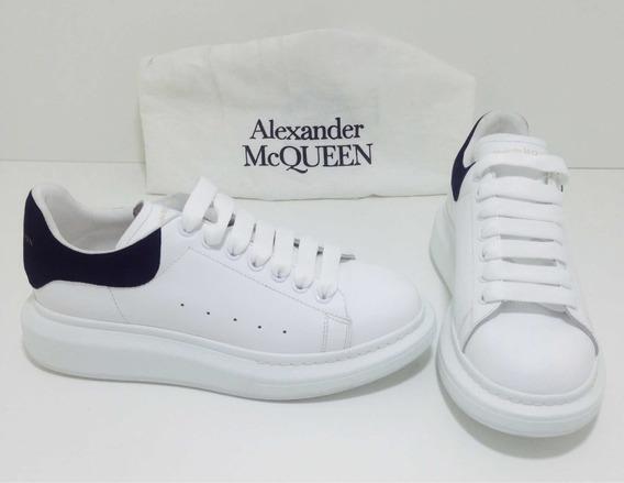 Tenis Alexander Mcqueen Em Couro