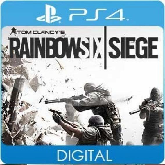 R6 Rainbow Six Siege / Play 4 / 1 / Envio Hoje
