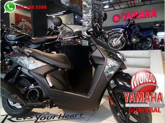Yamaha Bws Fi E.d Camo + Gorra Oakley Mundo Yamaha
