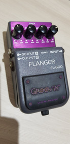Pedal Para Guitarra Baixo Groovin Fl600 Flanger Semi Novo