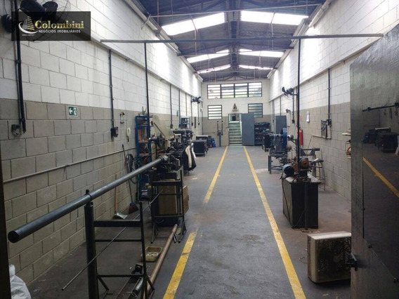 Galpão Industrial À Venda, Cerâmica, São Caetano Do Sul. - Ga0024