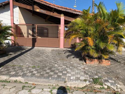 Casa Lado Praia Balneário Flórida Mirim Mongaguá!!! - Ca00778 - 68097148