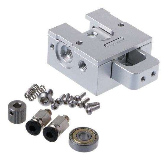 Kit Extrusora Bulldog Mk8 De Precisão Para Impressoras 3d