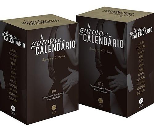 Box A Garota Do Calendário 12 Volumes