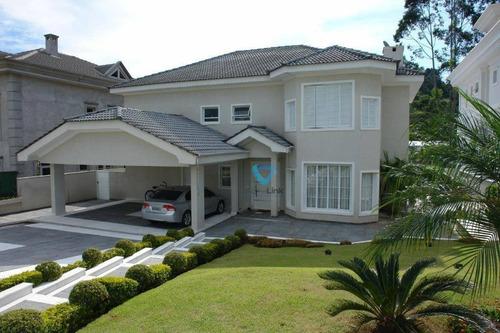 Imagem 1 de 13 de Casa Com 4 Dormitórios À Venda, 700 M² Por R$ 4.200.000,00 - Alphaville - Santana De Parnaíba/sp - Ca1117