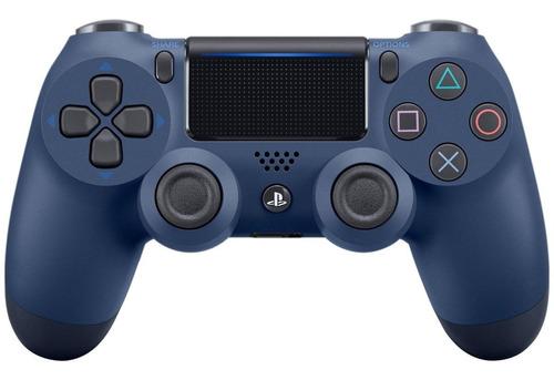 Imagen 1 de 3 de Joystick inalámbrico Sony PlayStation Dualshock 4 midnight blue